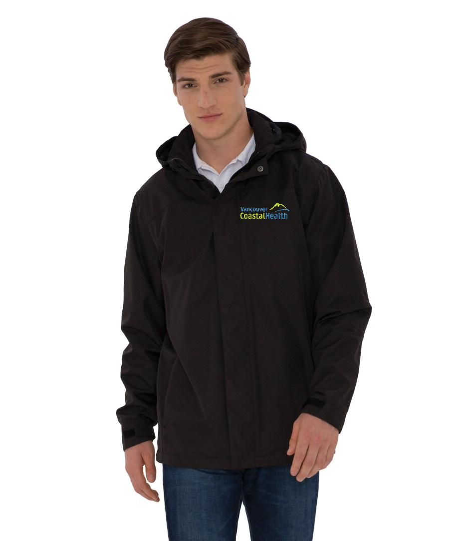 Coal Harbour® Men's Coast to Coast Rain Jacket
