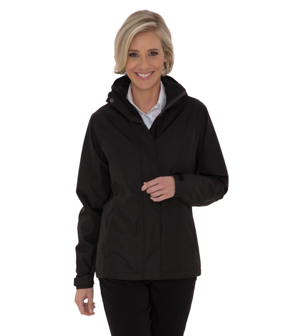 Coal Harbour® Ladies Coast to Coast Rain Jacket